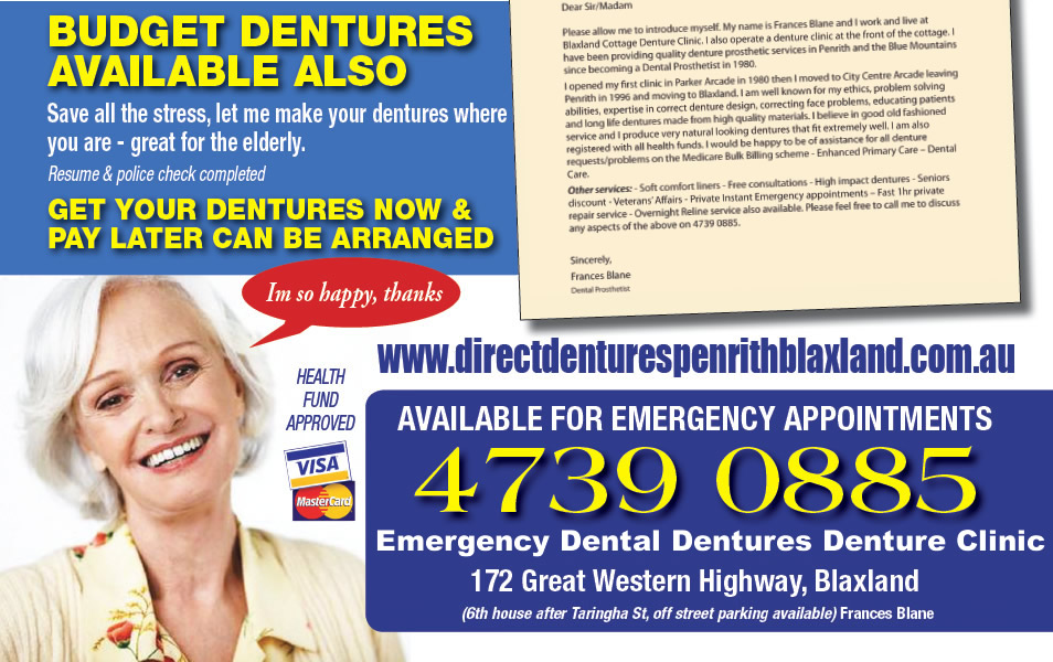 Direct Dentures Penrith Blaxland